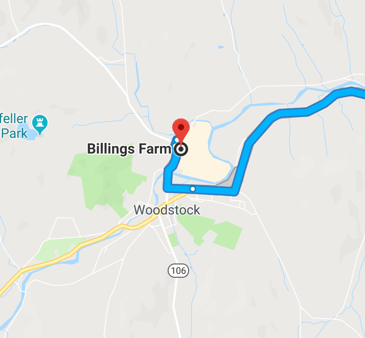 directions to billings farm and museum woodstock vt