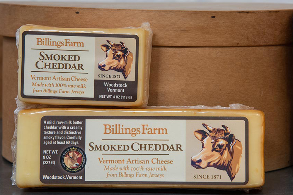 billings farm smoked cheddar cheese