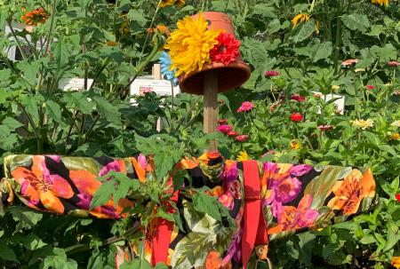 billings-farm-woodstock-vermont-activities-sunflower-garden