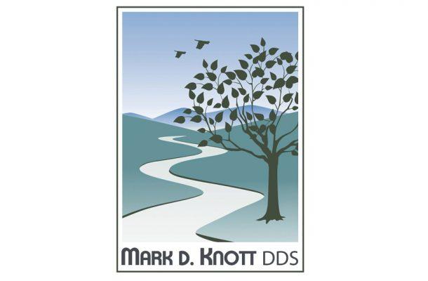 mark d knott dds logo